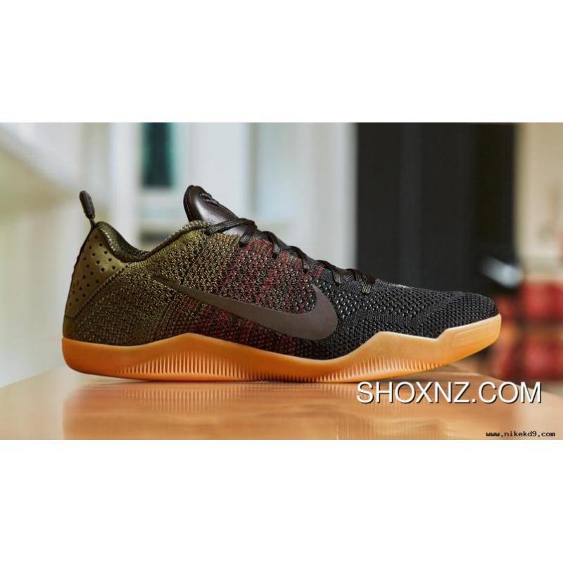 outlet store 5f7b5 911ee USD  105.05  273.13. Black Team Red-Rough Green Nike Kobe 11 Black Horse ...