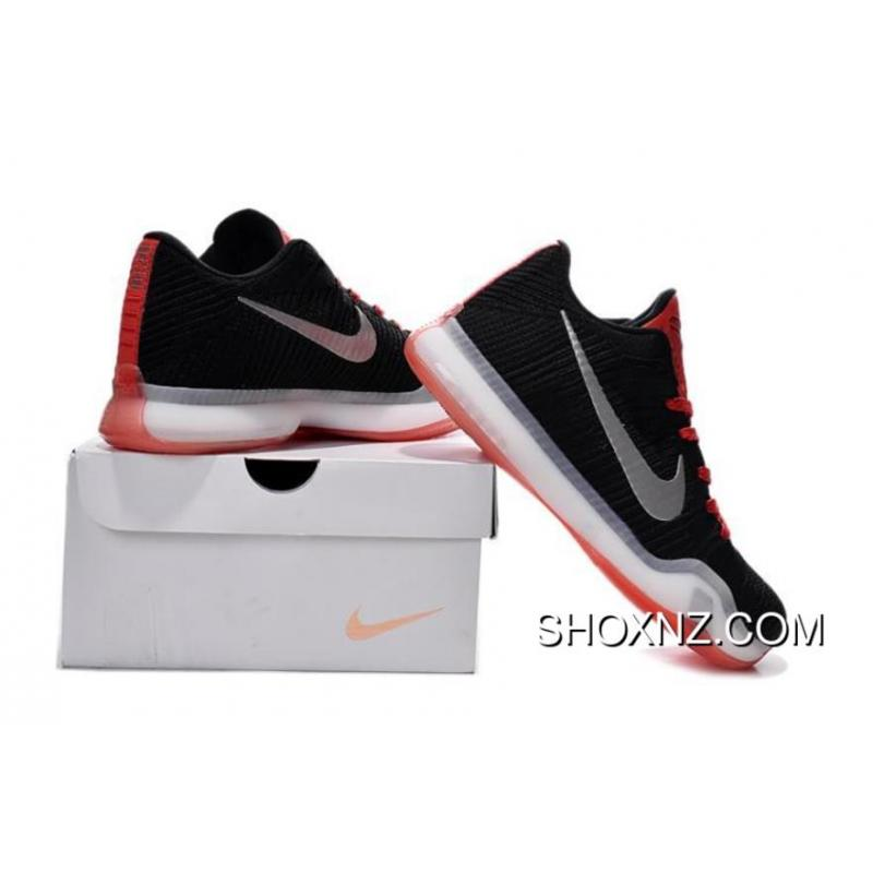 more photos 7a70b 78d4d ... discount mens nike kobe 10 elite low black white red outlet e312b dcae1