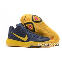 Nike Kyrie 3 Mens BasketBall Shoes Cavs Yellow Discount C3FapT