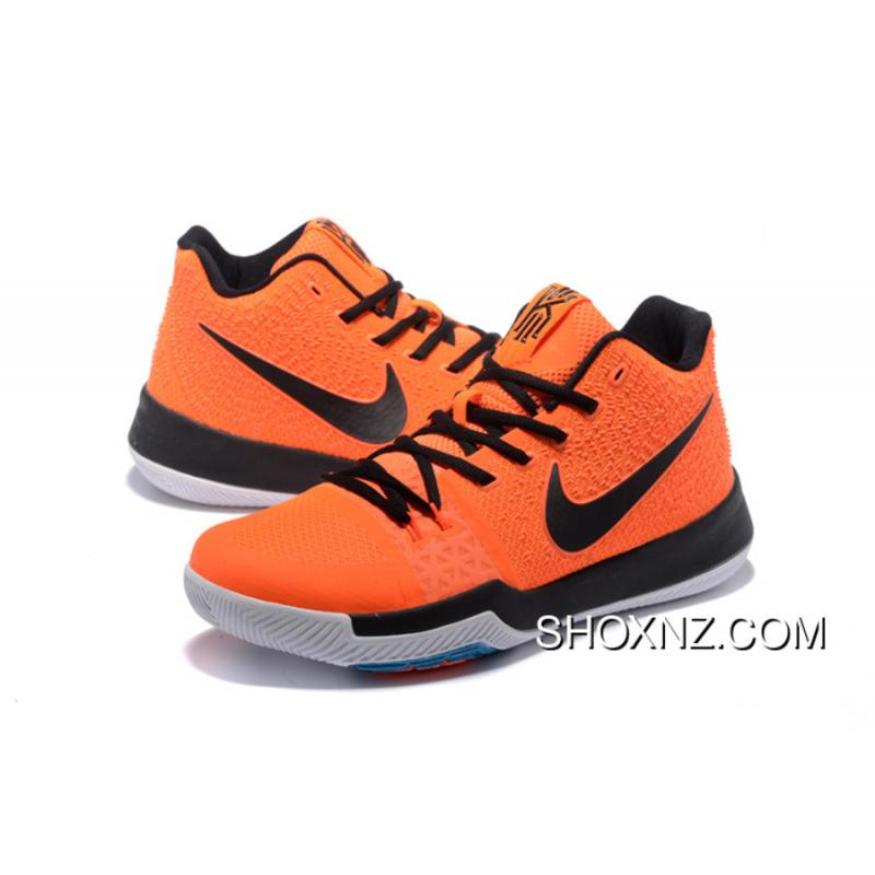 Nike Kyrie 3 Mens Basketball Shoes Orange Black Latest Price