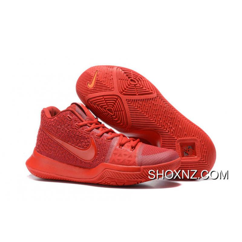 best service 63c9b 1d9a8 Shop Nike Kyrie 3 All Red Best