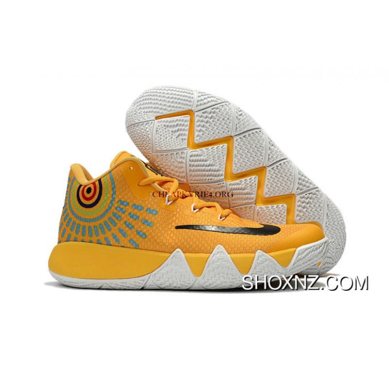 on sale 24488 3bc1d Nike Kyrie 4 Shoes Nike Zoom Kyrie 4 Basketball Shoes Kyrie 4 Yellow Black  Kyrie Irving 4 New Release 2017 Discount