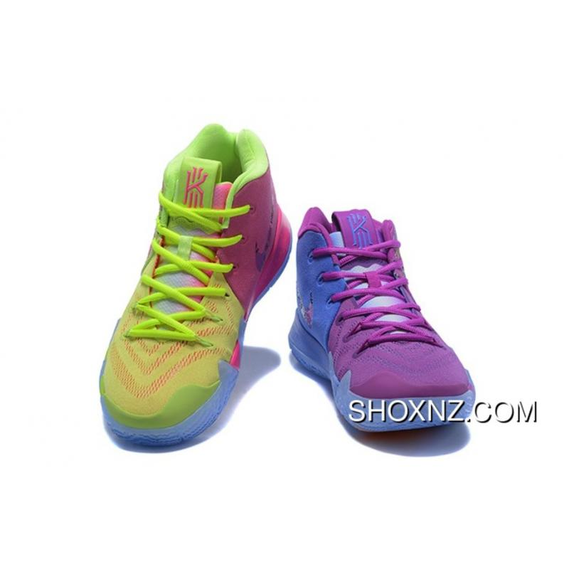 9d0cc99586ca ... 2017 Kyrie Irving New Nike Shoe Kyrie 4 Confetti Multi-Color Mens For  Sale ...