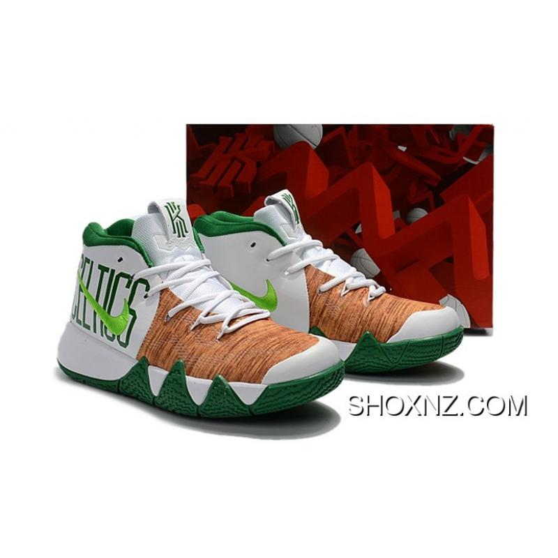 new product f3a38 39a65 norway nike kyrie 4 celtics a9240 f40d7