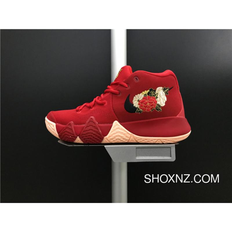 Nike Kyrie 4 Owen 4 943807600 Chinese Red Embroidery Combat Also Shoes Men Shoes Best