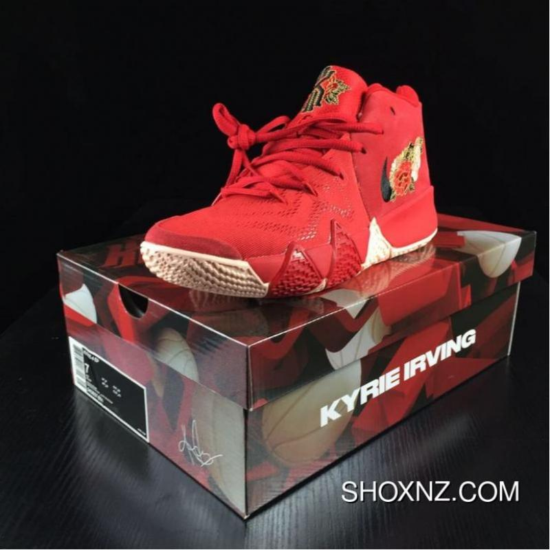 c83be907ceaf USD  88.91  302.29. Jay On Foot Nike KYRIE Age 4 Owen 4 Chinese Red Peony  ...