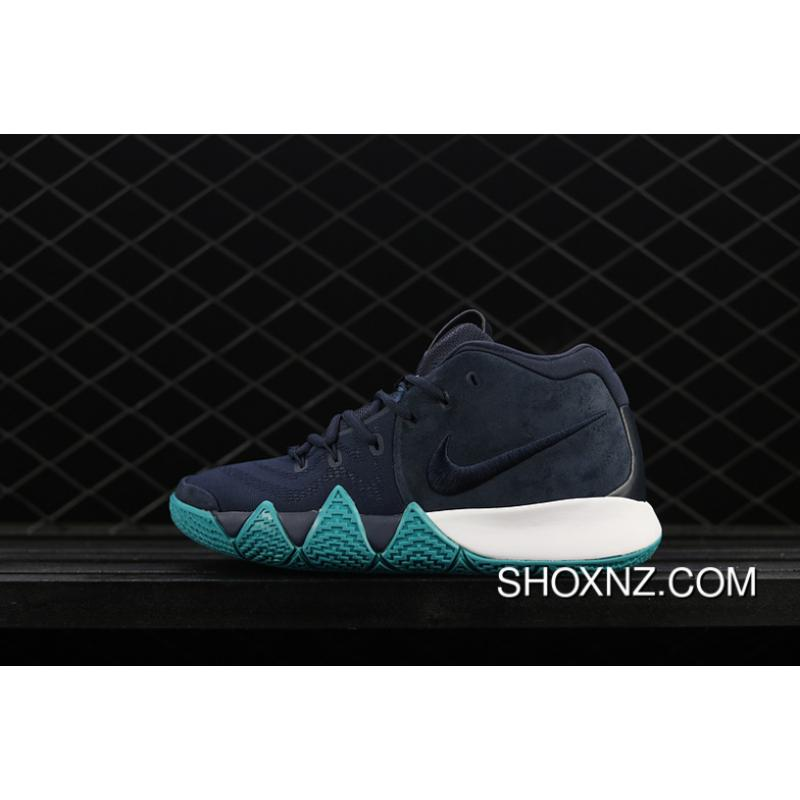 huge discount c1267 50324 Nike Kyrie 4 Owen 4 Navy Blue Colorways Basketball Shoes 943806-001 New  Style