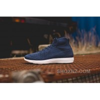 Nike Lunar Magista II Flyknit Blue White 852614-600 Super Deals FXRCN4