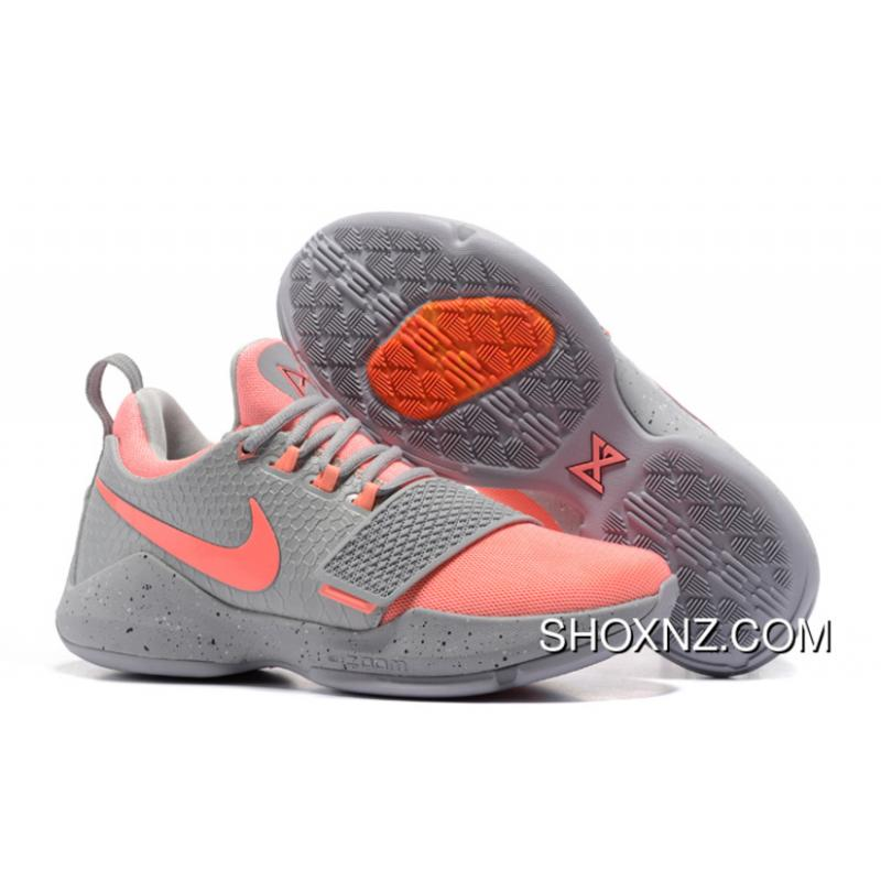 77a08d0c23bb 2017 Nike Zoom Pg 1 Grey Pink New Year Deals