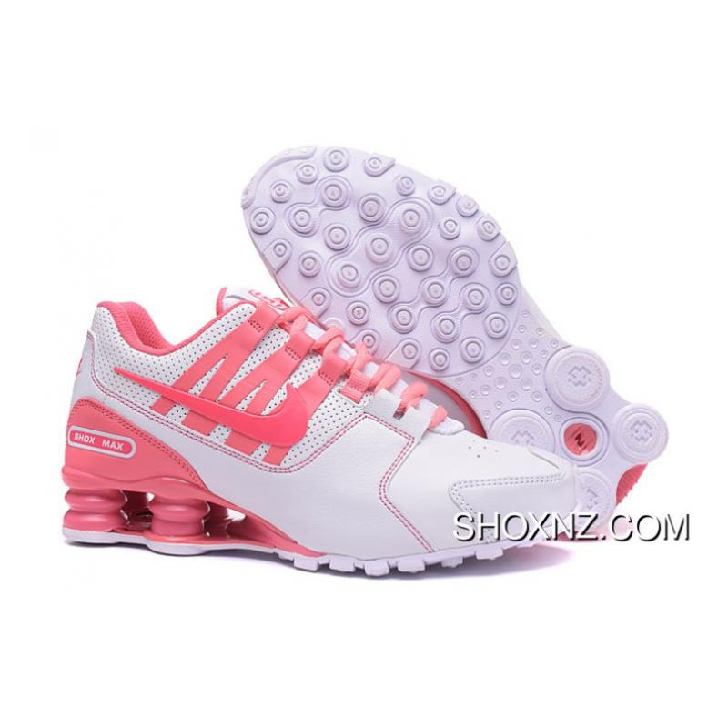 NIKE Shox Avenue 803 PU White Pink Women For Sale
