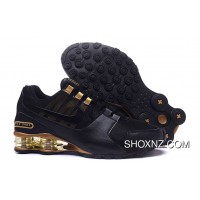 Nike SHOX Avenue 802 Black And Gold For Sale