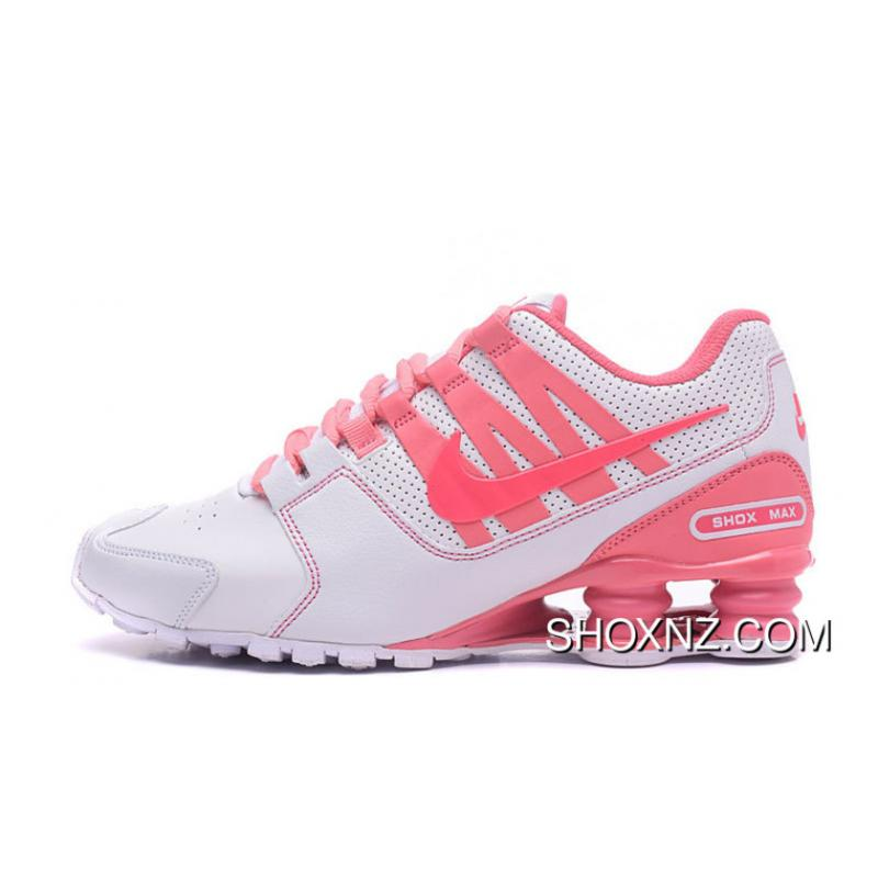6beee822c8861c USD  88.10  220.24. NIKE Shox Avenue 803 PU White Pink Women For Sale ...