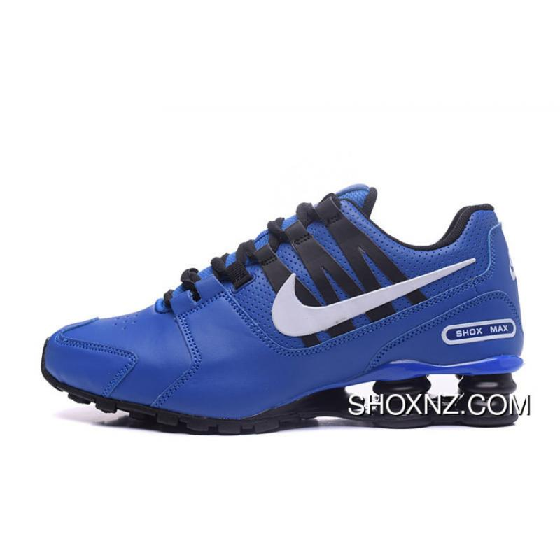 NIKE Shox Avenue 803 PU 4046 Blue Men Discount