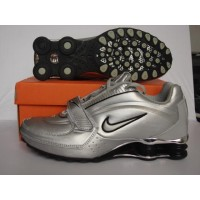 Nike Shox NZ Velcro Flint Grey Black