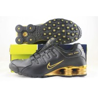 Nike Shox NZ Anthracite Metallic Gold