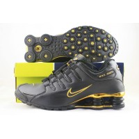 Nike Shox NZ Anthracite Gold