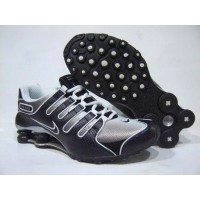 Nike Shox NZ White Black Gradient