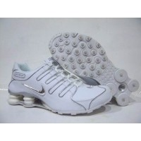 Nike Shox NZ White Bright Silver