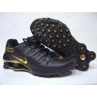 Nike Shox NZ Graphite Metallic Gold