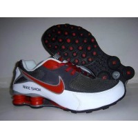 Nike Shox NZ Anthracite White Varsity Red