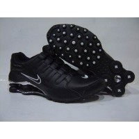 Nike Shox NZ Black White Bright Silver
