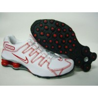 Nike Shox NZ Stitching White Varsity Red