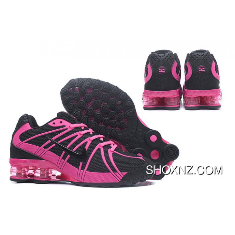 NIKE SHOX OZ 801 Black Rosie Pink For Women New Release