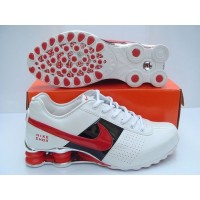 Nike Shox OZ White Red Black