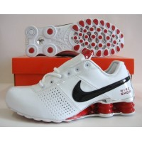 Nike Shox OZ White Black Red Silver