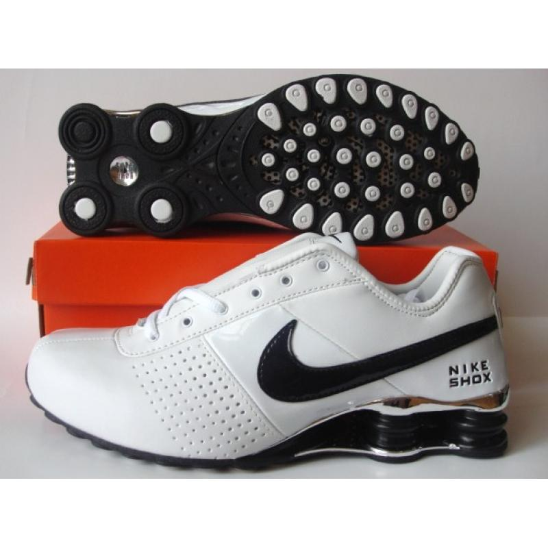 Nike Shox OZ White Black Silver
