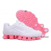 Nike Shox TLX Women Shoes 2018 New White Pink For Sale