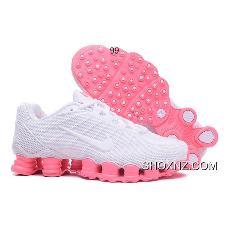 Nike Shox TLX Women Shoes 2018 New White Pink For Sale ...