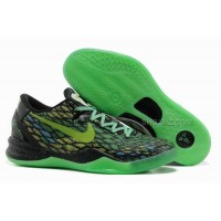 Nike Kobe 8 System Basketball Shoe Snake Green/Black