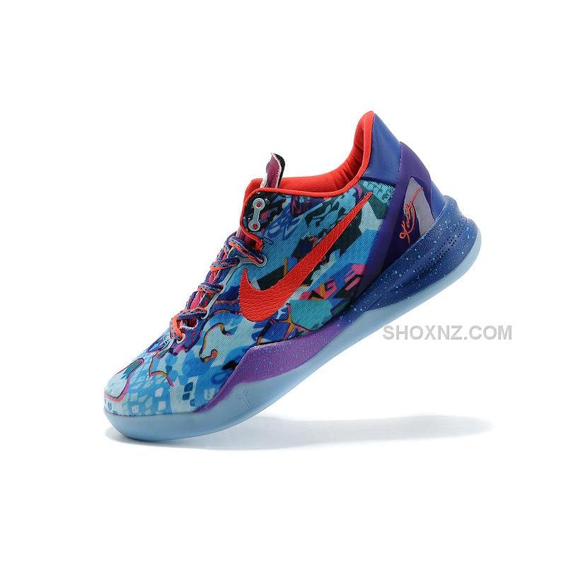 "Nike Kobe 8 ""What the Kobe"" Electric Orange Deep Night-Violet-Bright ... 844ada0522"