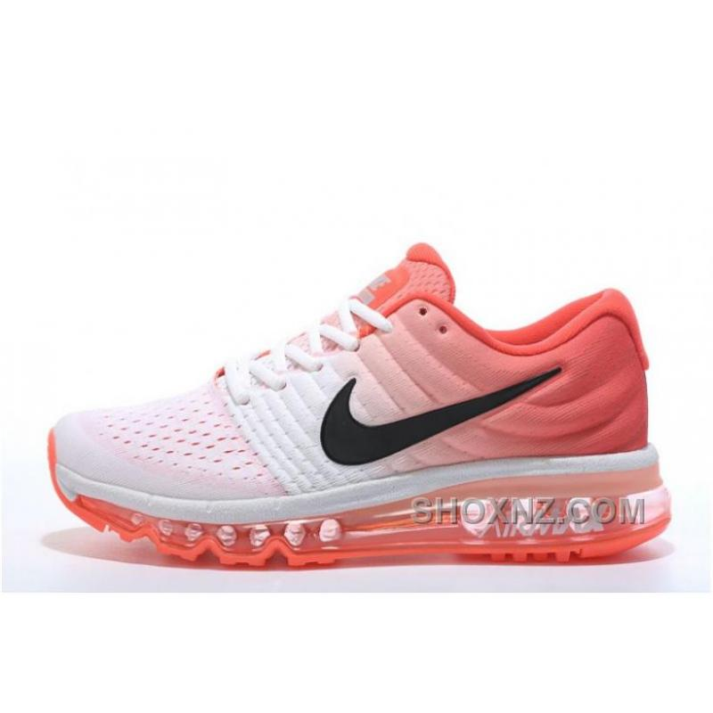 nike air max 2017 black white womens running shoes nz