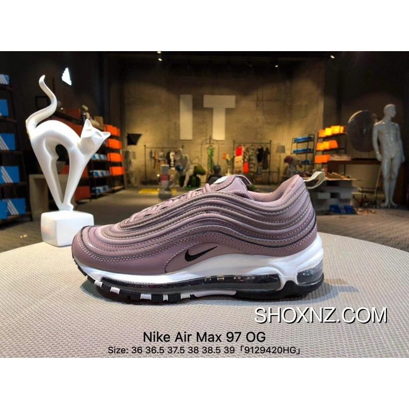 best sneakers 21af4 0a8a7 Copuon Nike Air Max 97 OG Women Purple Bullet Zoom Running Shoes 917646-200  Size 9129420HG