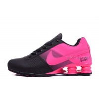 Women Shox Deliver Pink Black