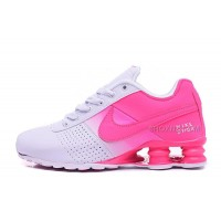 Women Shox Deliver Pink White