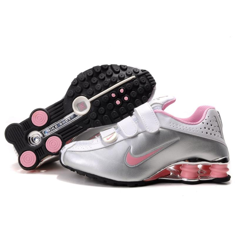 nike shox turbo 13 shoes for women. Womens Nike Shox R4 Metallic Silver  White Pink