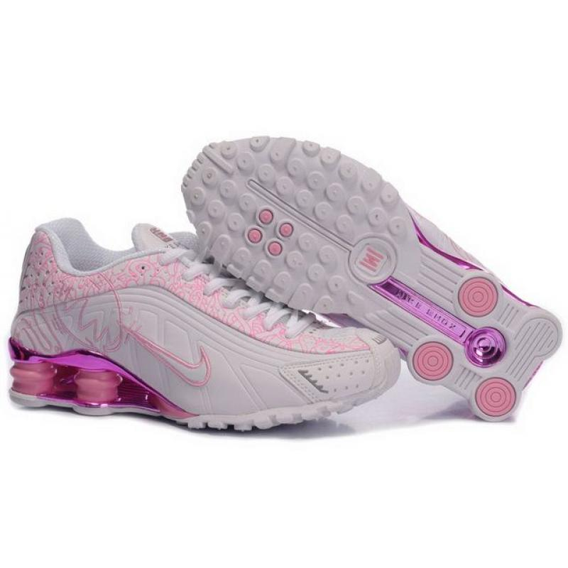 innovative design 9c207 0bcce Womens Nike Shox R4 White Pink Orchid , Price   61.40 - Shox NZ ...
