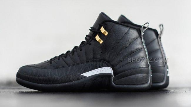 nike mens air jordan 12 retro the master black nz