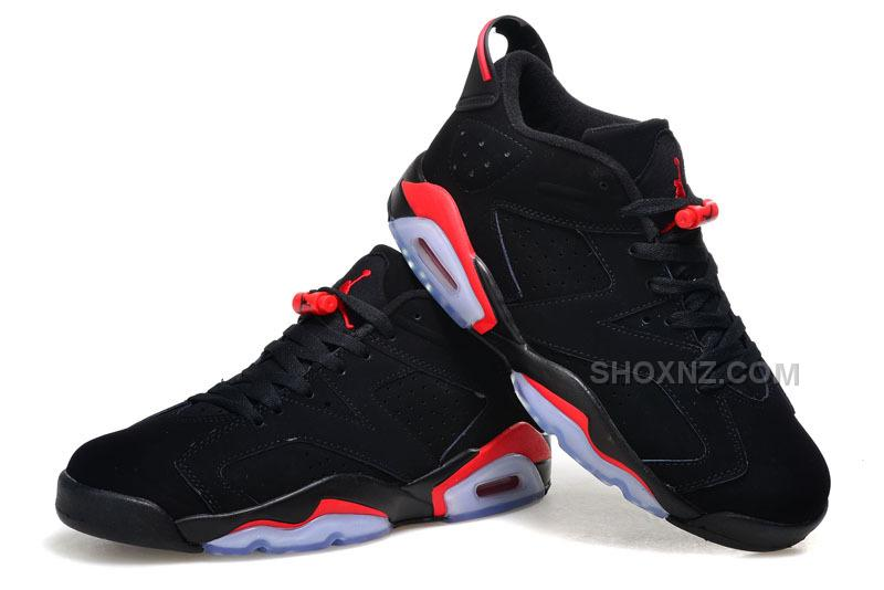 2015 Air Jordan 6 Low GS BlackInfrared23Black Cheap For Sale Online