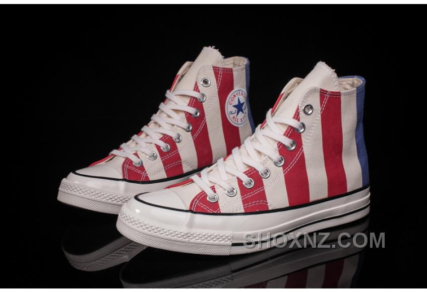 Converse 2017 Chuk Taylor All Star 1970s 1970S 153850C Women/men American Flag Best IykSjTY