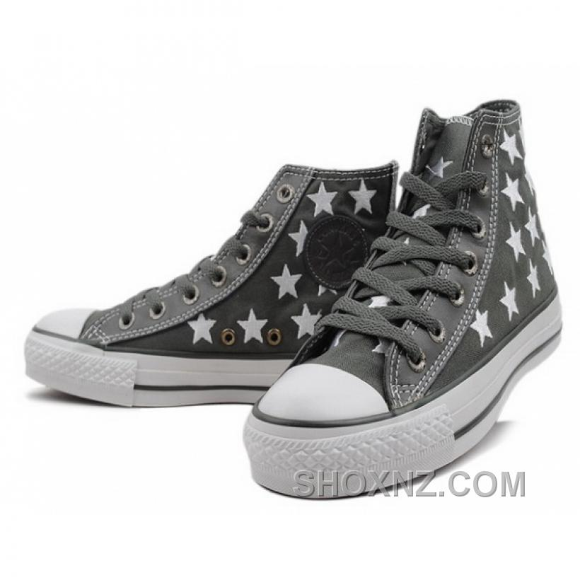 Converse All Star Printed Stellate Canvas High Top Shoes N24FP