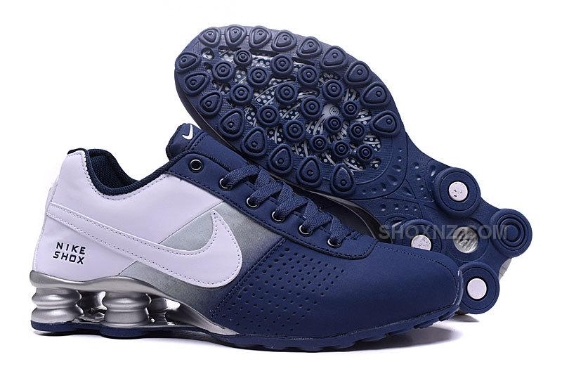 Men Shox Deliver Dark Blue White Price 88 00 Shox Nz