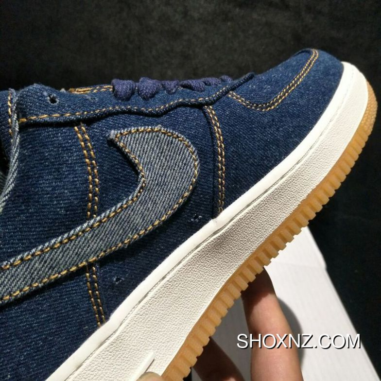 c11ac0413aefd9 Free Shipping Levis X Nike Air Force 1 Retro One To Be Publishing Tannin  Cowboy A02571