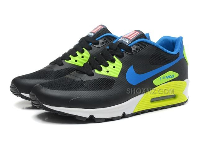 nike air max 90 hyperfuse qs mens shoes grey green