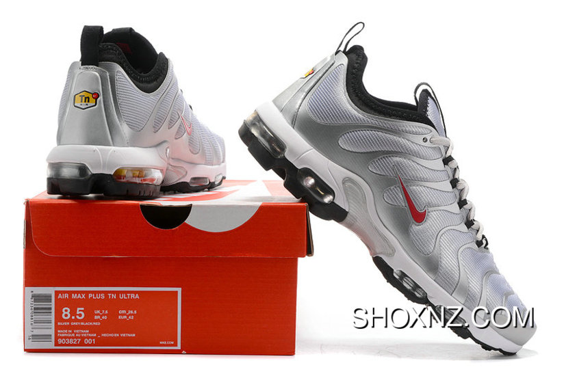innovative design 92540 d629c Nike Air Max Tn Ultra Womens Red Silver Grey Black Latest