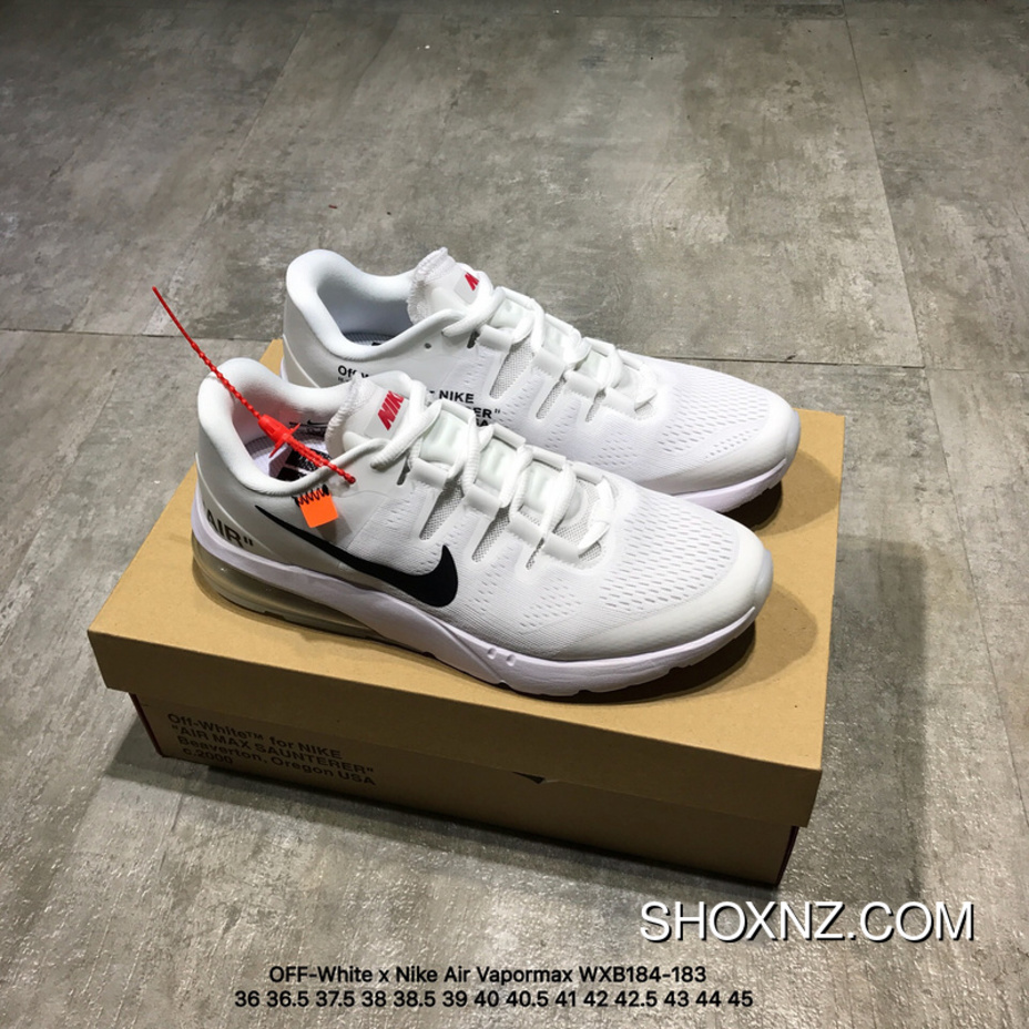b273ad52af20 OFF-White X Nike Air Vapormax Half-palm Cushion Joint Running Shoes  WXB184-183 Best