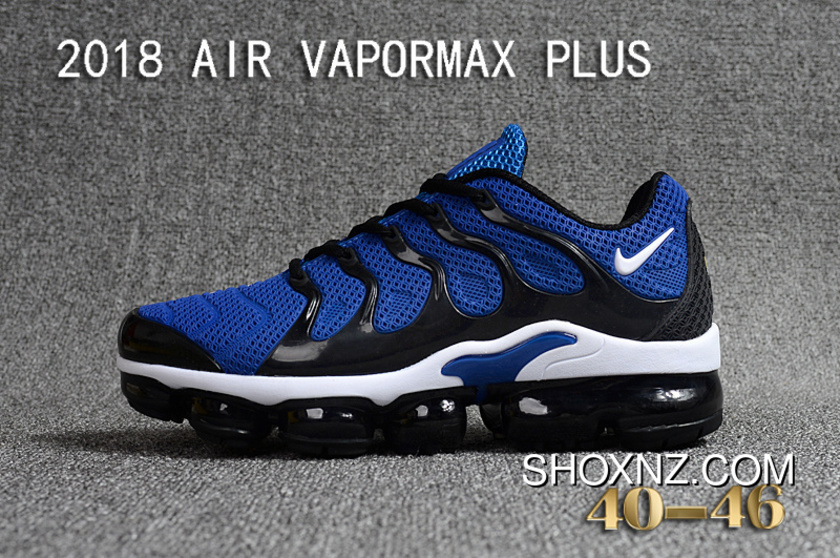38a88e70b1 Nike 2018 PLASTIC AIR VAPORMAX PLUS TN PLASTIC VAPORMAX PLASTIC Men Shoes  Navy Blue Black Online